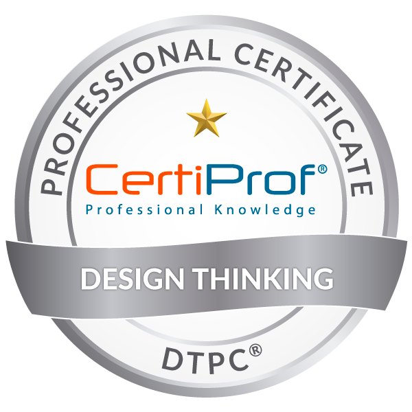 certiprof designthinking DESIGN THINKING
