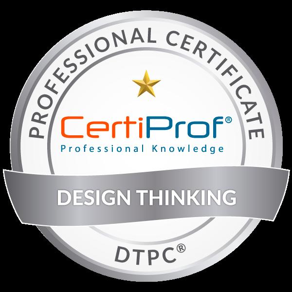 certiprof designthinking DESIGN THINKING