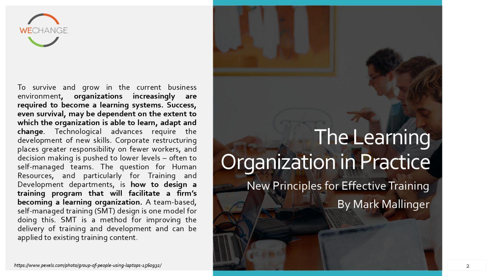 learnin organization in practice page 0002 compressed The learning organization in practice