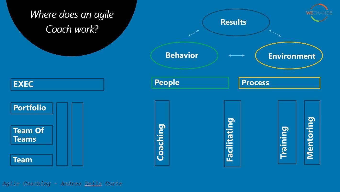 לכיד33ה Agile coaching models